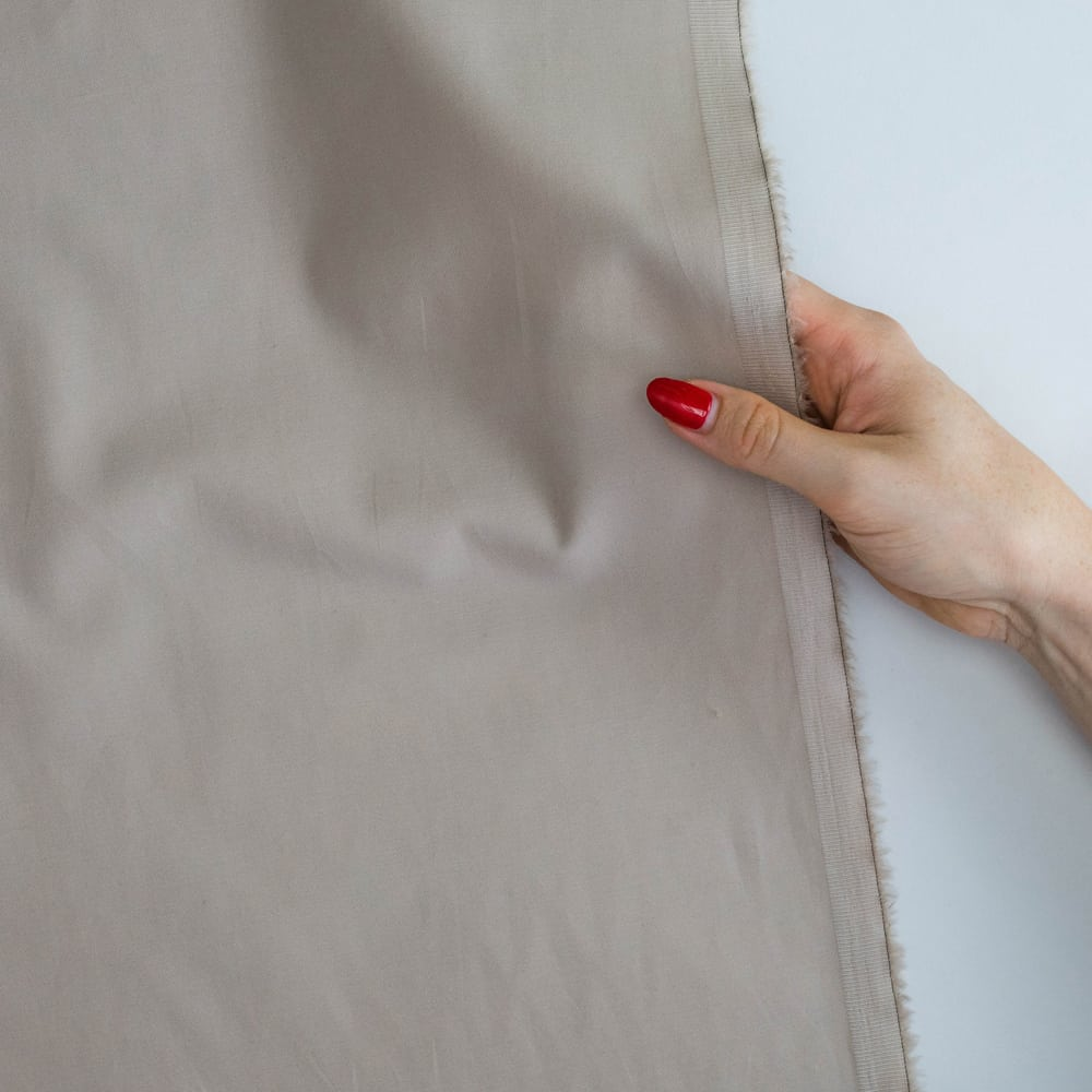 Made to Sew Taupe Cotton Sateen