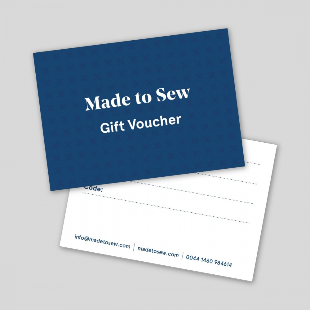 Made to Sew - Gift Voucher - Digital