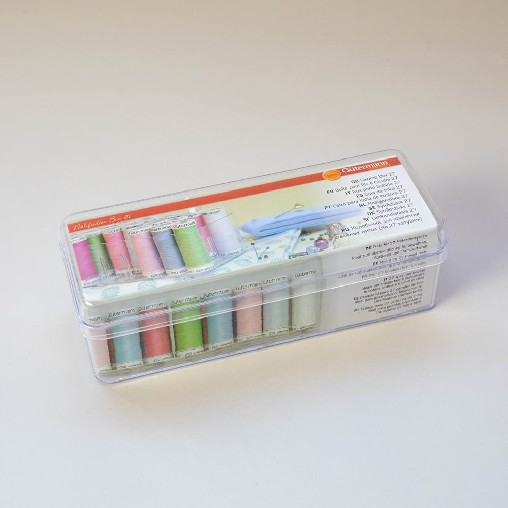 Made to Sew Gutermann Thread Box 27 Spools