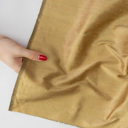 Made to Sew Gold Handloomed Silk Dupion