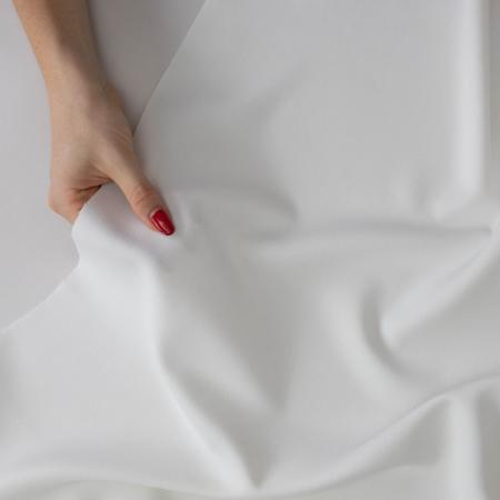 Made to Sew Off White Poly Viscose